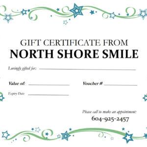 Gift Certificate voucher sample
